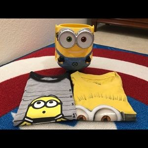 Bundle Of Minion For Toddler Boys